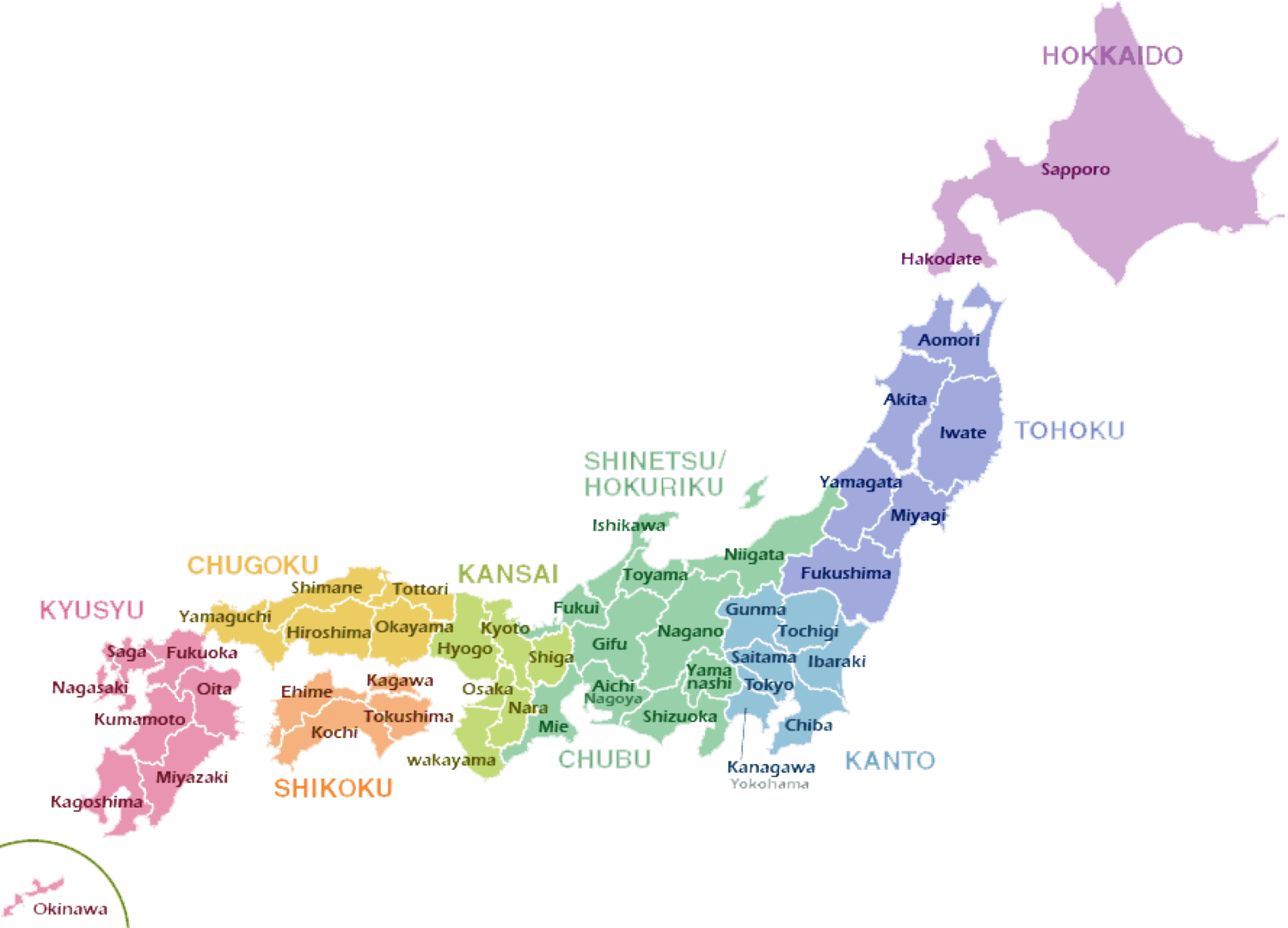 Know All the Islands of Japan